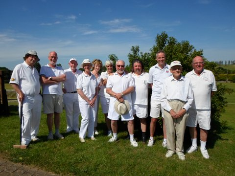Photo of Bath's Central South GC team at Dowlish Wake