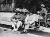 1937 Capt Vaughan-Jenkins Budleigh Salterton Eng v Aus