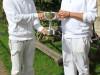 Sanaa Hallam presents Omied Hallam With 2012 Millennium Cup